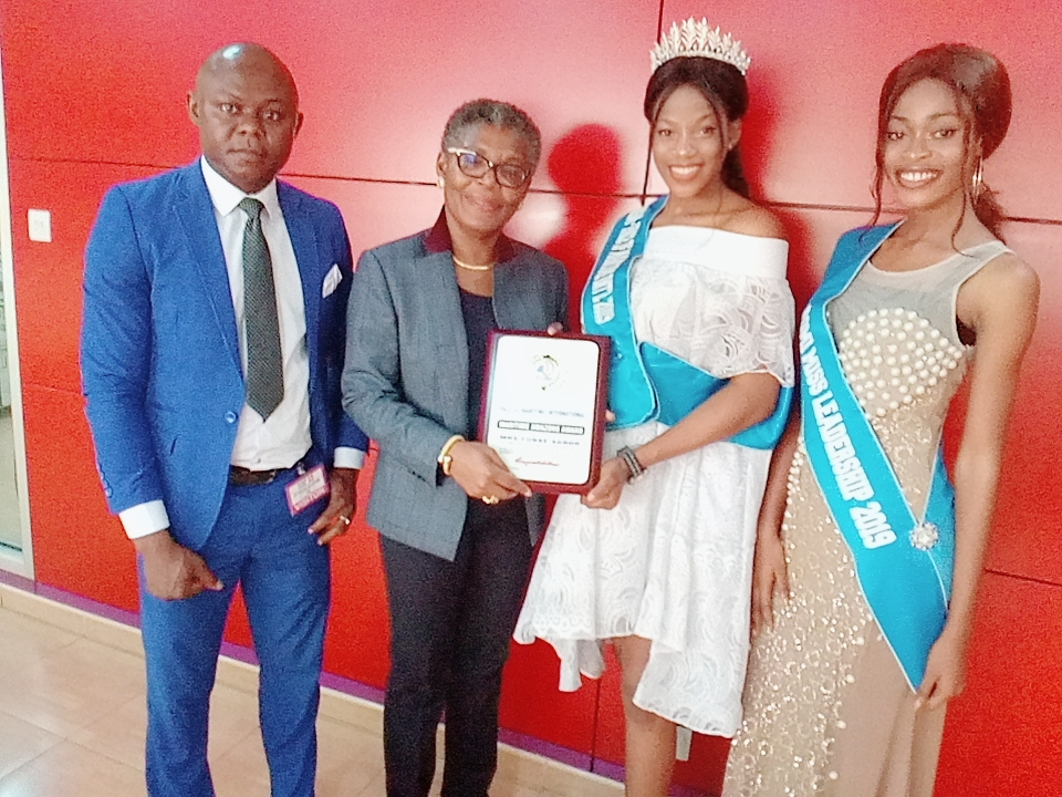 The Management of Face Of Maritime International together with the queens